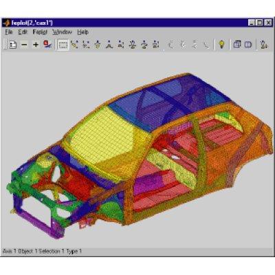 画像2: Structural Dynamics Toolbox/FEMlink